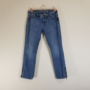 Gap 1969 Jean's with ankle zipper